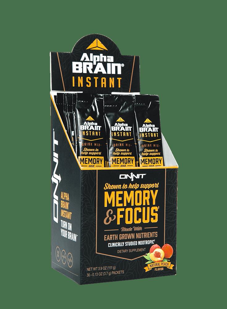 alpha brain instant drink