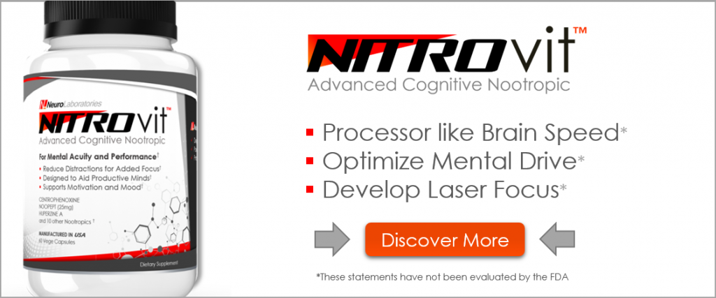 Is Nitrovit The Best Noopept Nootropic? - Nootropic org
