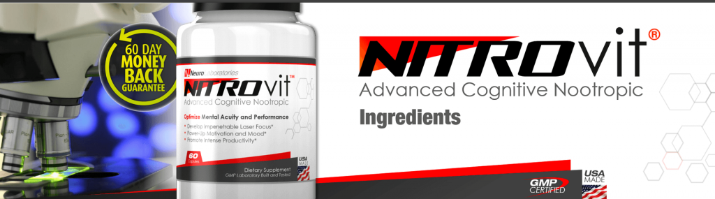 NitroVit Ingredients