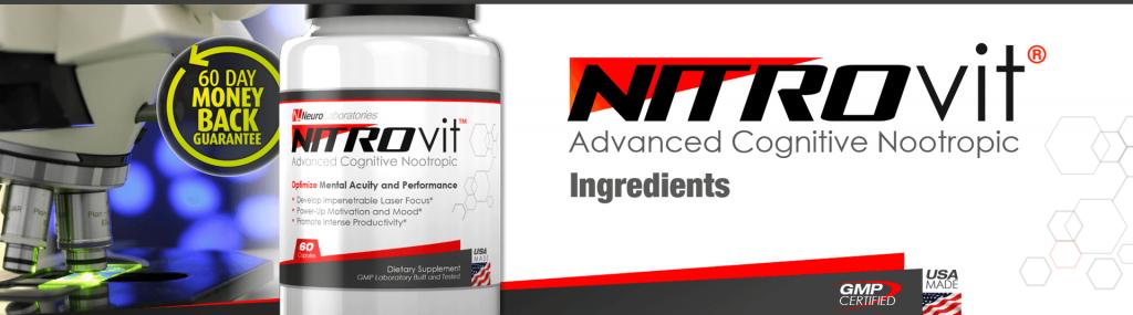 NitroVit Ingredients