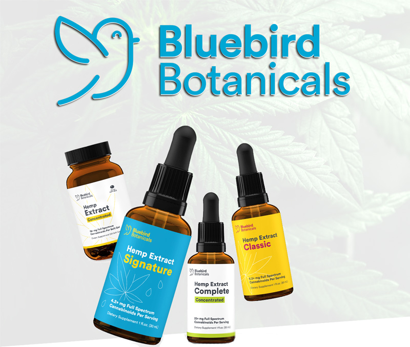 Bluebird Botanicals CBD Oil