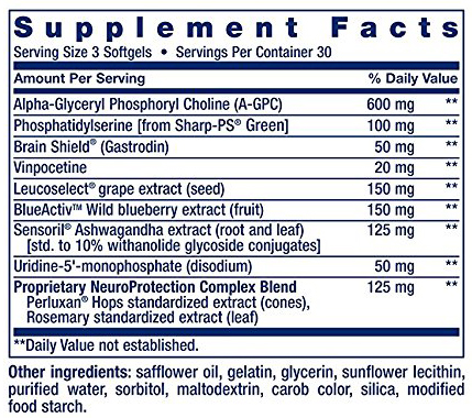 Cognitex Ingredients