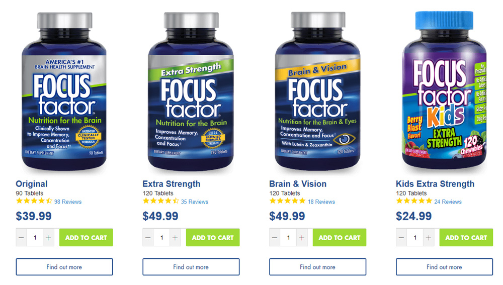 best brain focus supplements for brain fog