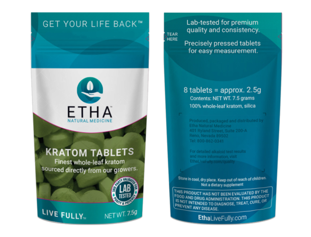 best kratom tablets for depression